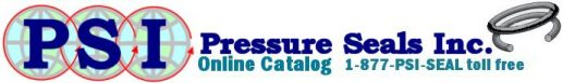 Pressure Seals, Inc. Online Catalog 1-877-PSI-SEAL toll free